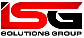 ISG red and black logo
